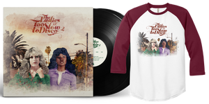 (Pre-Order) The Ladies Of Too Slow To Disco 2 LP + Baseball Shirt Bundle