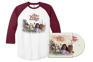(Pre-Order) The Ladies Of Too Slow To Disco 2 CD + Baseball Shirt Bundle