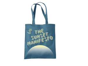 Too Slow to Disco NEO - The Sunset Manifesto Tote Bag
