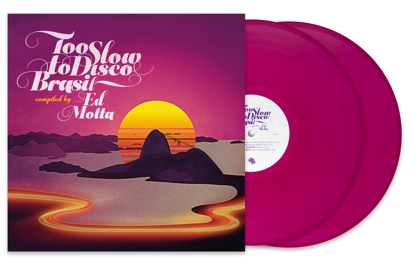 (PRE-ORDER) Too Slow To Disco Brasil ltd.LP