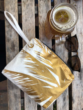 Small Pouch Glam Gold Miami Palm