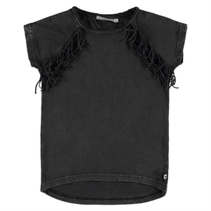 MOLO RIANA PIRATE BLACK TSHIRT