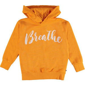MOLO MADELYN ORANGE HOODIE