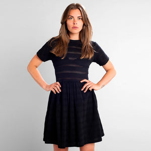 DEDICATED LACE JERSEY DRESS