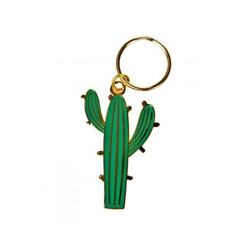 A&W Cactus Key Ring