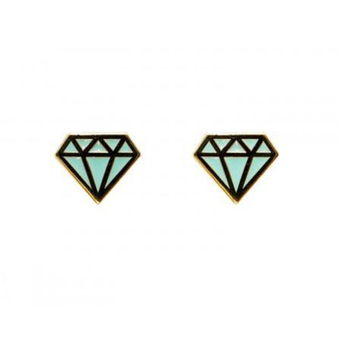 A&W Diamond Shaped Earrings