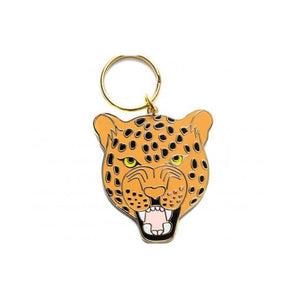 A&W Leopard Key Ring