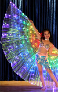 Kids Luminous Colorful Wing
