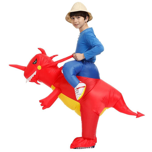 Kids Ride-on Dinosaur Costume