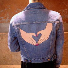 Load image into Gallery viewer, I Heart Symbol Jeans Jacket