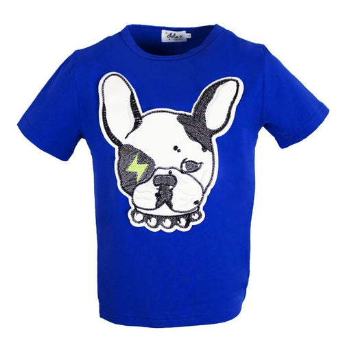 L&B FRENCHIE PATCH TEE