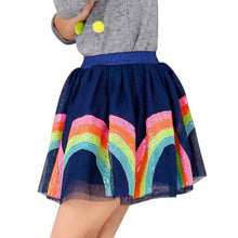 Load image into Gallery viewer, Lola and the boys RAINBOW SEQUIN TUTU SKIRT