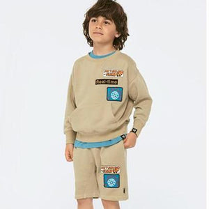 MOLO Aris Beige Sweat-shorts