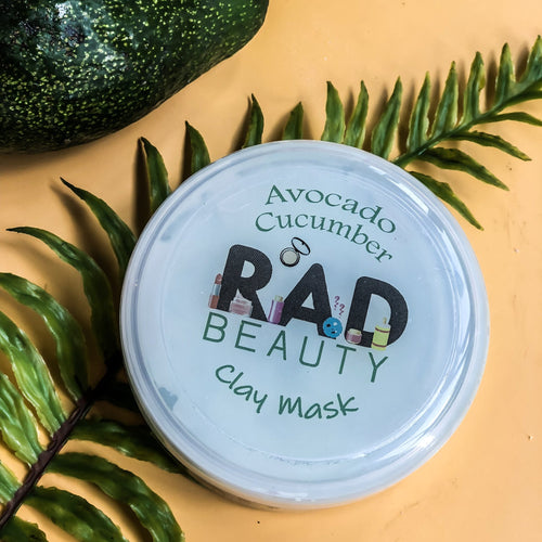 Avocado clay mask