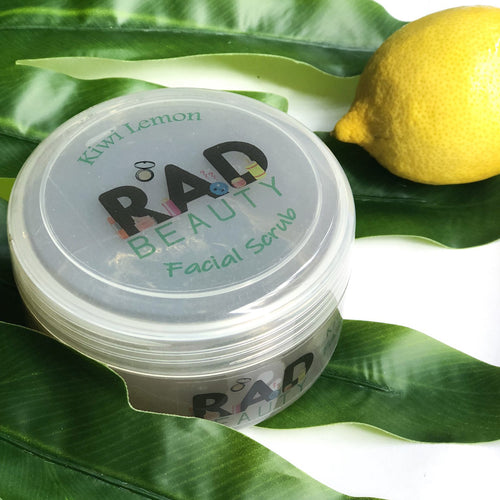 Kiwi Lemon Facial Scrub