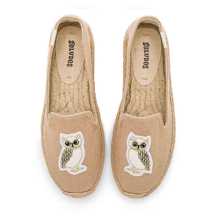Soludos owl patch shoes