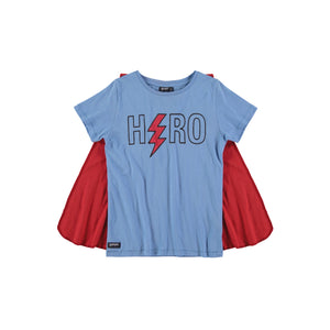Hero Boys Tee Shirt with Cape