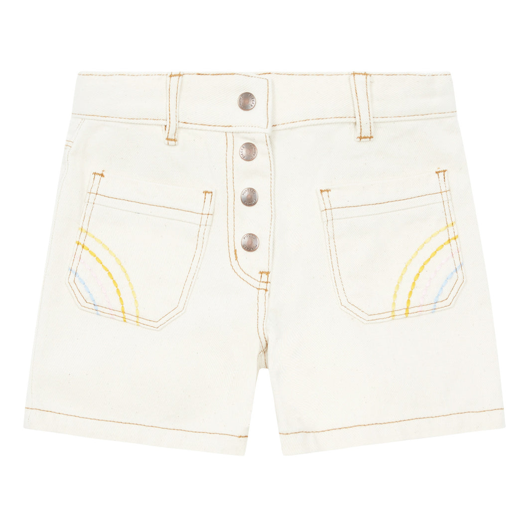 HP DENIM SHORTS MASTIC