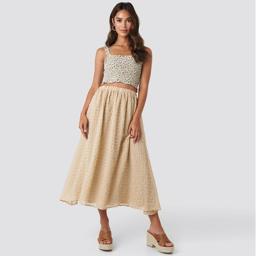 NAKD FLOWY STRUCTURED SKIRT