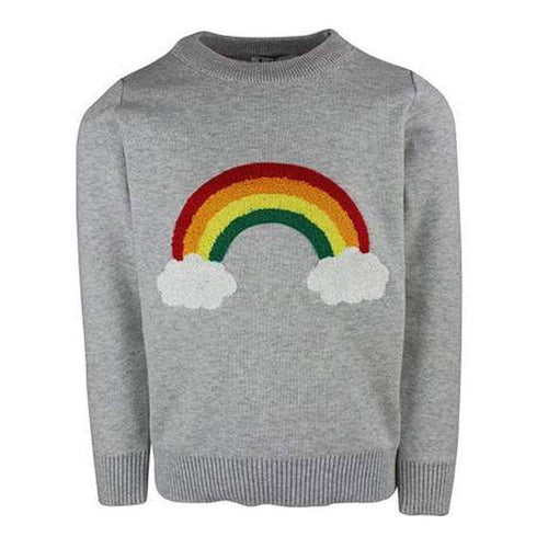 L&B RAINBOW CLOUD SWEATER