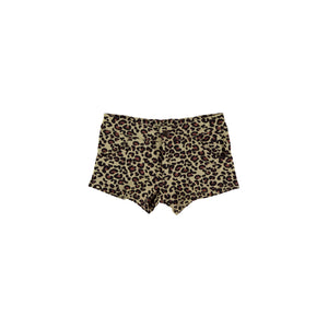 YPORQUE LEOPARD MINI SHORT