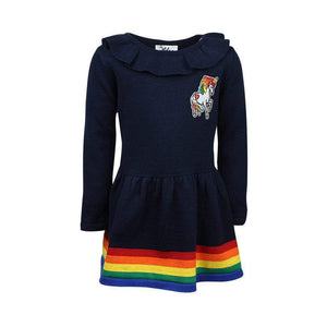 L&B MID NIGHT UNICORN DRESS