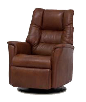 IMG Brando Large Leather Relaxer Power Recliner