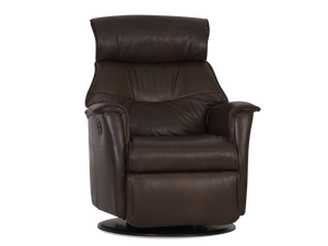 IMG Captain Large Leather Relaxer Power Recliner