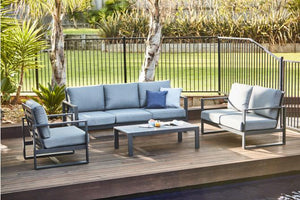Colada 4 Piece Triple Outdoor Lounge Setting