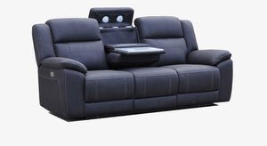 Apollo MK11 Fabric 3 Seater with Twin Electric Recliners