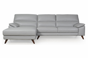 La-Z-Boy Everly Leather 3 Seater/Chaise