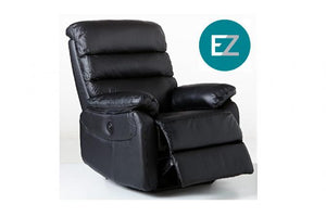 E-Z-Way Arizona Leather Electric Recliner
