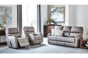 E-Z-Way Cleo 3 Piece Fabric Recliner Suite