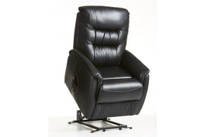 E-Z-Way Leo Leather Electric Lift Chair