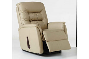 E-Z-Way Leo Leather Rocker Recliner