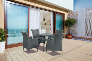 Bermuda 5 Piece Outdoor Dining Setting