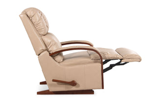 La-Z-Boy Harbor Town Leather Rocker Recliner