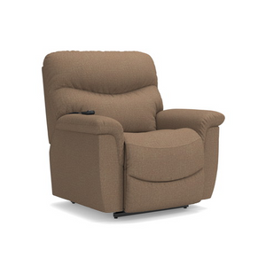 La-Z-Boy James Silver Fabric Lift Chair