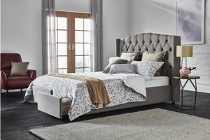 Jemma Upholstered Bed with Storage