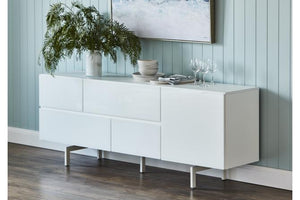 Lumino 1 Door/4 Drawer Buffet