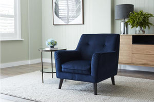 Luxe Fabric Armchair