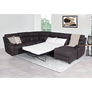 Porter Fabric 6S Modular with Sofa Bed and Chaise