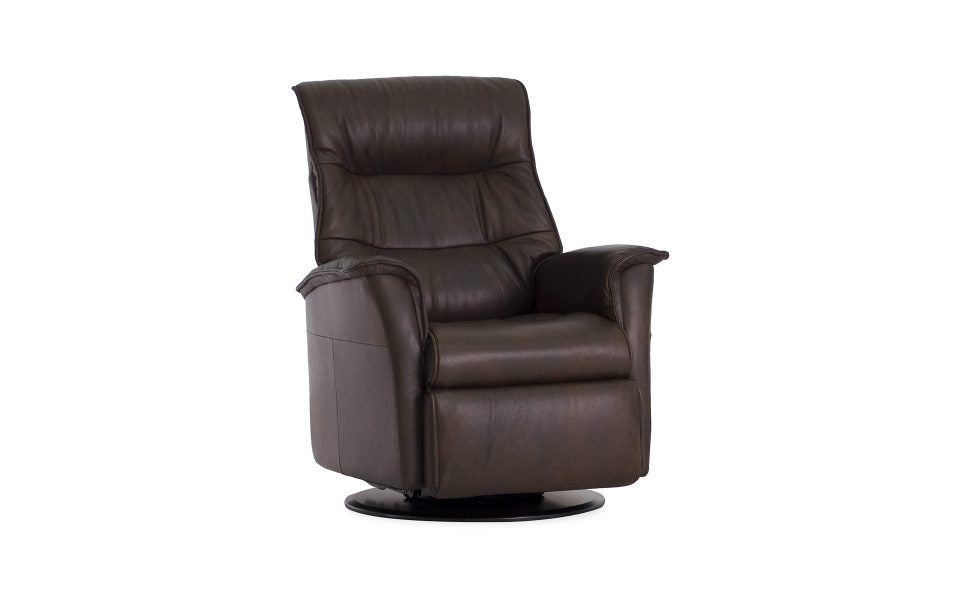 IMG Paramount Compact Leather Recliner