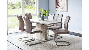 Pia 5 Piece Extension Dining Suite