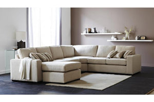 Piazza Fabric Corner Suite with Chaise
