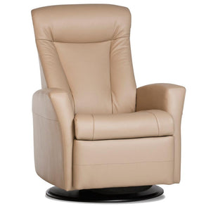 IMG Prince Compact Leather Relaxer Recliner