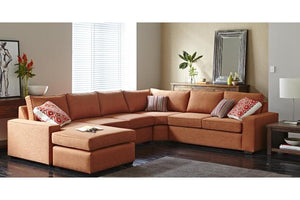 Rigby Fabric Corner Suite with Chaise