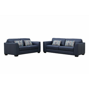 Stradbroke leather 3 seater and 2 seater