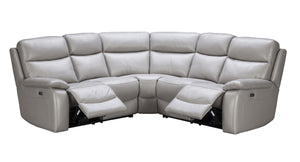 La-Z-Boy Taylor Leather Corner Lounge with End Recliners