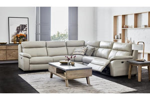 Titan Leather Electric Motion Corner Lounge